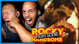 Rocky Handsome last fight scene (Best Fight In Bollywood Ever)   Trailer Reaction by RnJ