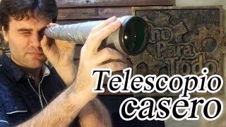 getlinkyoutube.com-Como hacer un catalejo o largavista casero (Telescopio)