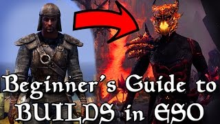 BEGINNER'S Guide to BUILDS in ESO (Elder Scrolls Online Tips for PC, Xbox One, and PS4)