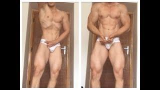 Seb Muscle in tight white briefs!
