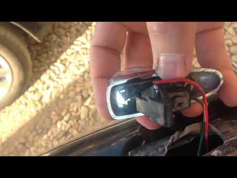 Как поставить лампочки в светлячки крыльев Марк 2 jzx90