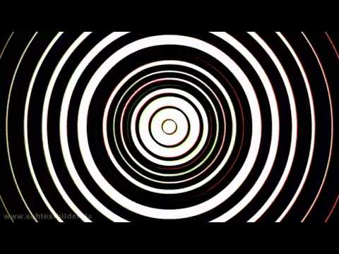 Optical illusion: color spiral (natural-hallucinogen)