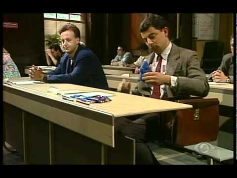 Mr Bean - O Exame (Legendado em Portugues)