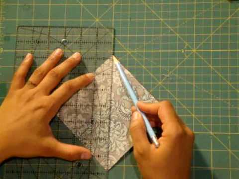 Quilting Basics: Half Square Triangle Quilted Coasters