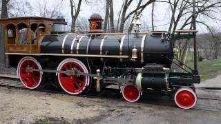 getlinkyoutube.com-York 17 Steam Locomotive Unload April 15, 2013