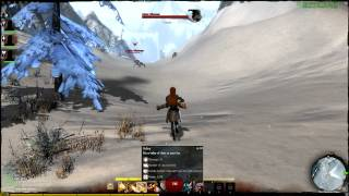 getlinkyoutube.com-Guild Wars 2 - Warrior: Rifle Skills