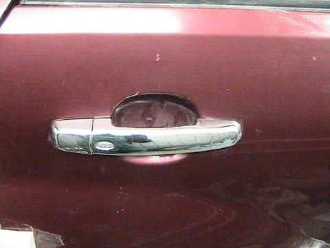 Как снять ручку задней пассажирской двери Сузуки Гранд Витара Suzuki Grand Vitara