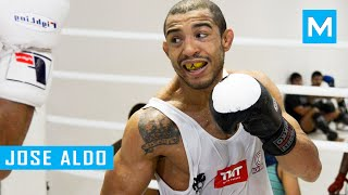 getlinkyoutube.com-Jose Aldo MMA Training Highlights | Muscle Madness