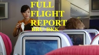 getlinkyoutube.com-Thai Airways B777-300ER Brussels - Bangkok FLIGHT REPORT