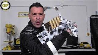getlinkyoutube.com-Balestra da polso a ripetizione Fai da te DIY - Repeating Crossbow Crash Test Notebook
