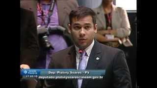 Deputado Platiny Soares discursa em apoio ao PL da Anistia