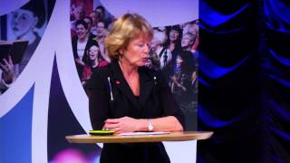 Västerbotten på Grand 2014: Lena Adelsohn Liljeroth om kulturdriven tillväxt