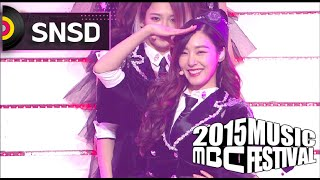 getlinkyoutube.com-[2015 MBC Music festival] 2015 MBC 가요대제전 Girls' Generation - Genie 20151231