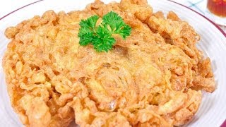 getlinkyoutube.com-ไข่เจียวฟูกรอบ Crispy Omelet
