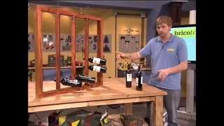 getlinkyoutube.com-Botellero de madera para pared