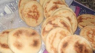 getlinkyoutube.com-,الفطاير,خبز المقلة,pan casero, khobz el makla, hobs el makla