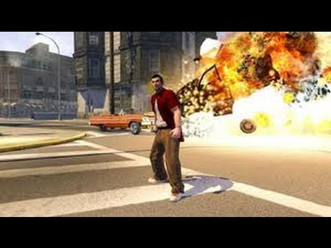Saints Row The Third: Insane Car Crash Montage