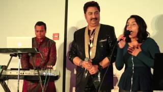 getlinkyoutube.com-Kumar Sanu Performs LIVE For The First Time With His Daughter