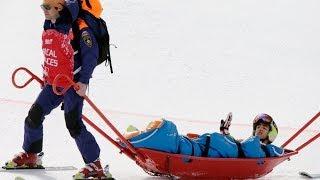 getlinkyoutube.com-Snowboarding and alpine Skiing crashes & fails at the Sochi 2014 Olympics