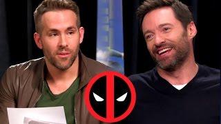 getlinkyoutube.com-Deadpool Interviews Wolverine for EDDIE THE EAGLE (2016) Ryan Reynolds, Hugh Jackman