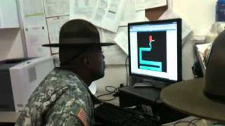 getlinkyoutube.com-Drill Sergeant scared by maze game