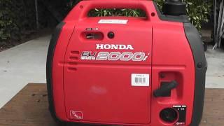 getlinkyoutube.com-Honda Generator EU2000i 2000 - Explained