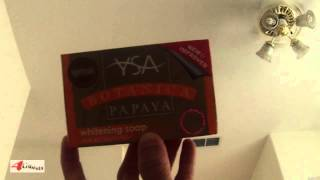 YSA Botanical Papaya Skin Whitening Soap, Review