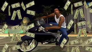 getlinkyoutube.com-How to get infinite/unlimited money in GTA San Andreas without cheat or Hack