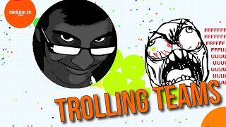 getlinkyoutube.com-AGAR.IO // TROLLING TEAMS