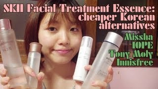 getlinkyoutube.com-SKII Facial Treatment Essence Dupes Review: Missha, IOPE, Tony Moly, Innisfree