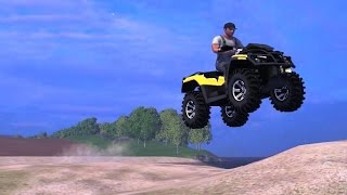 getlinkyoutube.com-QUAD BIKE IN FARMING SIMULATOR 2015