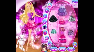 getlinkyoutube.com-Barbie Online Games To Play Free Barbie Cartoon Game - Barbie A Fashion Fairytale Makeover Game
