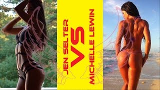 getlinkyoutube.com-[ Jen Selter VS Michelle Lewin ] Choose Your Favorite Angel !!!