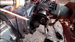 Mengubah/Modifikasi Pengapian Platina Ke CDI Tanpa Pulser. Honda Super Cup 700