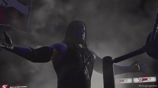 WWE 2K16 - Ministry Undertaker Full Entrance [ 60fps 1080p ]