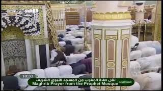 getlinkyoutube.com-الشيخ الحذيفى في الحرم يقطع صلاته ويخبر المصلين 26 شوال