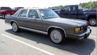 getlinkyoutube.com-1990 Ford LTD Crown Victoria Start Up, Exhaust, In Depth Tour, and Test Drive