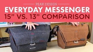 getlinkyoutube.com-Peak Design Everyday Messenger Bag 13in vs. 15in.