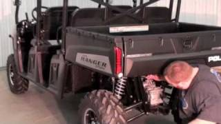 getlinkyoutube.com-Polaris Ranger 5.5 Cage Kit Install by MARSHALL MOTOART Part 1