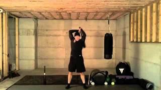getlinkyoutube.com-Clubbell Full Body Workout | Firefighter Workout | Tacfit Firefighter