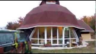 getlinkyoutube.com-Купольный дом своими руками. Часть 20