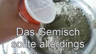 getlinkyoutube.com-Gartenkugel gießen, herstellen, Beton