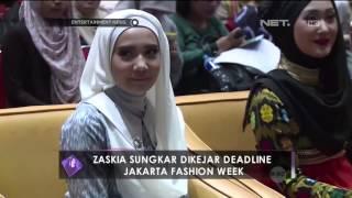 getlinkyoutube.com-Zaskia Sungkar Dikejar Deadline Jakarta Fashion Week