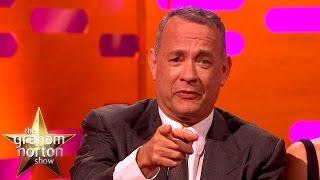 getlinkyoutube.com-Tom Hanks Re-Enacts Iconic Forrest Gump Scene - The Graham Norton Show