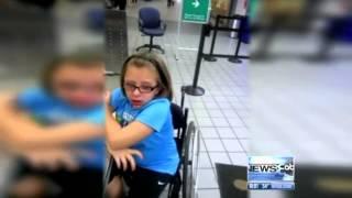 TSA Humiliate Child In Wheelchair 2012