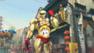 Street Fighter 4 PC skin mods Collection