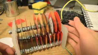 getlinkyoutube.com-Homebrew Magnetic Loop Antenna Part 1 - Variable Capacitor