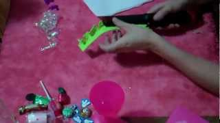 como hacer una caja de acetato/san valentin  // how to make a den acetate box valentines