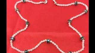 getlinkyoutube.com-Como hacer un cordon para sujetar las Gafas - How to make a cord to hold the glasses