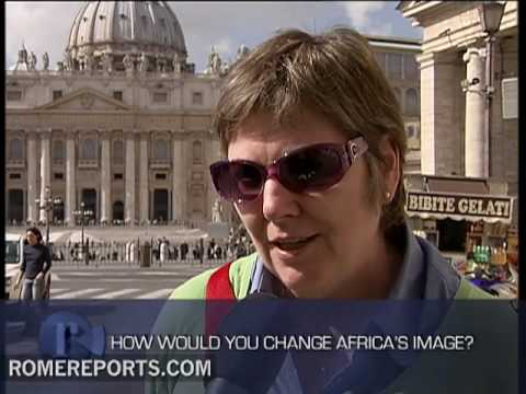 Vox Pop  How would you change Africa's image?